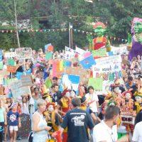 Festival au Bonheur des Momes - Manifestation de cloture on veut du bonheur